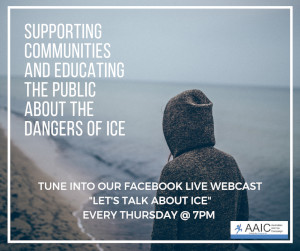 Lets Talk About Ice - Tune in via Facebook Live every Tuesday at 7PM